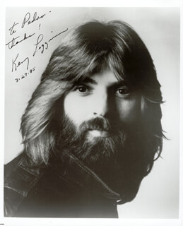 KENNY LOGGINS - AUTOGRAPHED INSCRIBED PHOTOGRAPH 03/27/1985