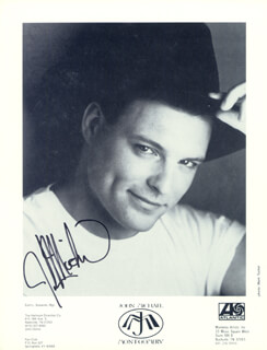JOHN MICHAEL MONTGOMERY - PRINTED PHOTOGRAPH SIGNED IN INK