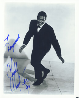 CHUBBY THE TWIST KING CHECKER - AUTOGRAPHED SIGNED PHOTOGRAPH 1990