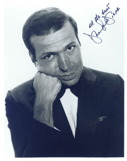 FRANK SINATRA JR. - AUTOGRAPHED SIGNED PHOTOGRAPH 1984