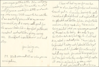 J. PAUL GETTY - AUTOGRAPH LETTER SIGNED