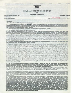 FRANK S. SUTTON - CONTRACT SIGNED 02/23/1972