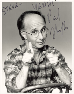 PAUL SHAFFER - AUTOGRAPHED INSCRIBED PHOTOGRAPH