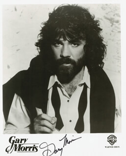 GARY MORRIS - AUTOGRAPHED SIGNED PHOTOGRAPH