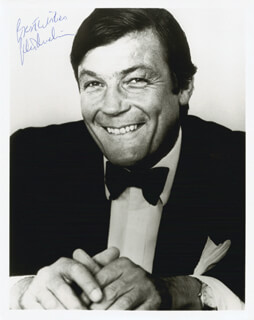 PETER DUCHIN - AUTOGRAPHED SIGNED PHOTOGRAPH