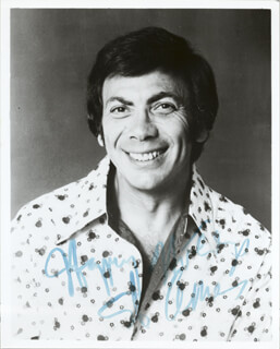 ED AMES - AUTOGRAPHED SIGNED PHOTOGRAPH