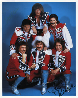 PAUL REVERE AND THE RAIDERS (PAUL REVERE) - AUTOGRAPHED SIGNED PHOTOGRAPH
