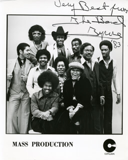 MASS PRODUCTION - AUTOGRAPHED SIGNED PHOTOGRAPH