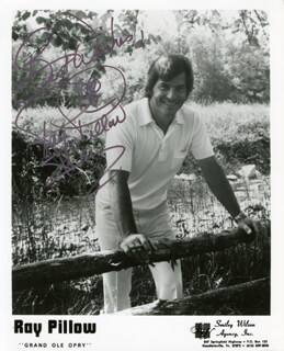 RAY PILLOW - AUTOGRAPHED SIGNED PHOTOGRAPH