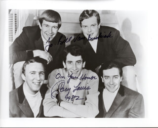 GARY LEWIS AND THE PLAYBOYS (GARY LEWIS) - AUTOGRAPHED INSCRIBED PHOTOGRAPH 1982