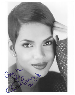 HALLE BERRY - AUTOGRAPHED INSCRIBED PHOTOGRAPH 1996