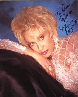 TAMMY WYNETTE - AUTOGRAPHED INSCRIBED PHOTOGRAPH