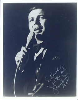 FRANK SINATRA JR. - AUTOGRAPHED INSCRIBED PHOTOGRAPH 1985