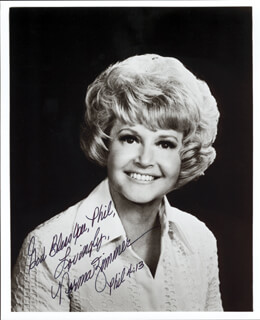 NORMA ZIMMER - AUTOGRAPHED INSCRIBED PHOTOGRAPH