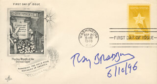 RAY BRADBURY - FIRST DAY COVER SIGNED 06/10/1996