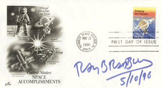 RAY BRADBURY - FIRST DAY COVER SIGNED 05/10/1996