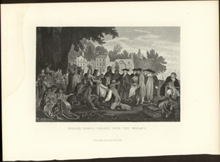 WILLIAM PENN - ENGRAVING UNSIGNED