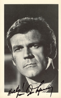 DON MURRAY - PICTURE POST CARD SIGNED