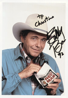 BOBBY BARE - AUTOGRAPHED INSCRIBED PHOTOGRAPH 1992