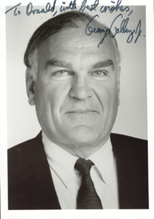 GEORGE GALLUP JR. - AUTOGRAPHED INSCRIBED PHOTOGRAPH