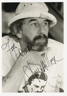 Autographs: LOU ADLER - INSCRIBED PHOTOGRAPH SIGNED