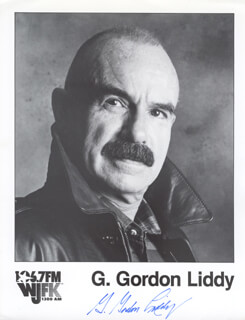 G. GORDON LIDDY - AUTOGRAPHED SIGNED PHOTOGRAPH