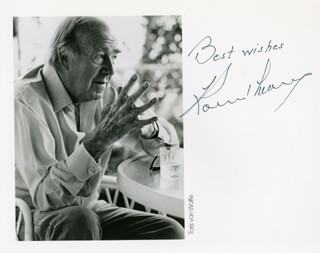 RONALD NEAME - AUTOGRAPHED SIGNED PHOTOGRAPH