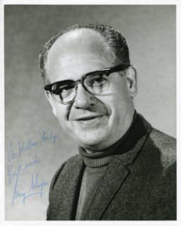 GEORGE SCHAEFER - AUTOGRAPHED SIGNED PHOTOGRAPH