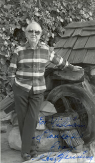 PAUL HENNING - AUTOGRAPHED INSCRIBED PHOTOGRAPH