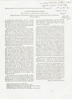 JOSEPH CHATT - ARTICLE SIGNED 09/06/1976