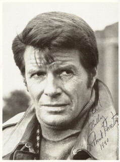 ROBERT HORTON - AUTOGRAPHED INSCRIBED PHOTOGRAPH 1990