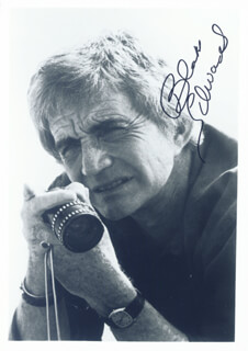 BLAKE EDWARDS - AUTOGRAPHED SIGNED PHOTOGRAPH