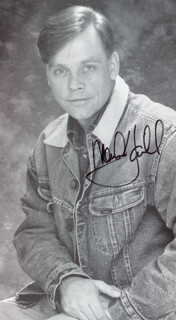 MARK HAMILL - AUTOGRAPHED SIGNED PHOTOGRAPH