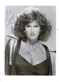 LAINIE KAZAN - AUTOGRAPHED INSCRIBED PHOTOGRAPH