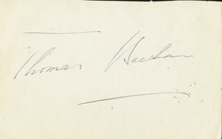 SIR THOMAS BEECHAM - AUTOGRAPH CO-SIGNED BY: SIR JOHN BARBIROLLI