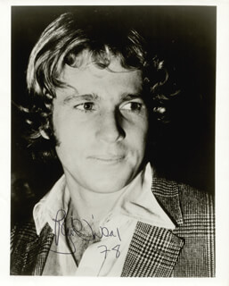 RYAN O'NEAL - AUTOGRAPHED SIGNED PHOTOGRAPH 1978