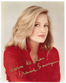 DIANE SAWYER - AUTOGRAPHED SIGNED PHOTOGRAPH