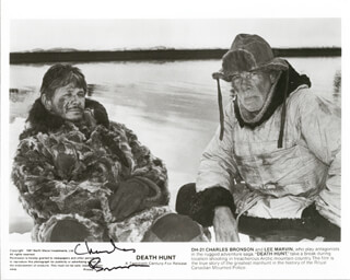 CHARLES BRONSON - AUTOGRAPHED SIGNED PHOTOGRAPH