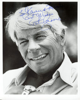 PETER GRAVES - AUTOGRAPHED INSCRIBED PHOTOGRAPH