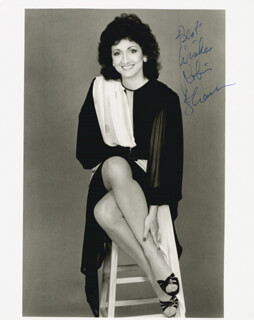 ROBIN STRASSER - AUTOGRAPHED SIGNED PHOTOGRAPH