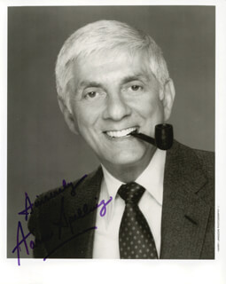 AARON SPELLING - AUTOGRAPHED SIGNED PHOTOGRAPH