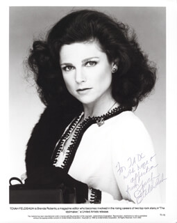 TOVAH FELDSHUH - AUTOGRAPHED INSCRIBED PHOTOGRAPH