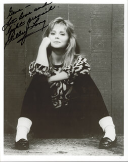 SHELLEY LONG - AUTOGRAPHED INSCRIBED PHOTOGRAPH