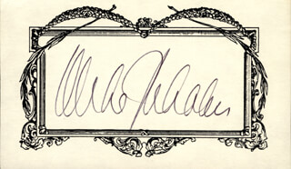 GOVERNOR MICHAEL DUKAKIS - AUTOGRAPH