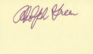 ADOLPH GREEN - AUTOGRAPH