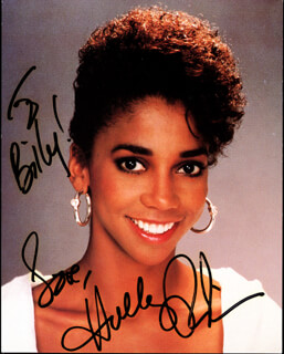 HOLLY ROBINSON PEETE - AUTOGRAPHED INSCRIBED PHOTOGRAPH