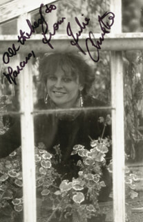 JULIE CHRISTIE - AUTOGRAPHED INSCRIBED PHOTOGRAPH