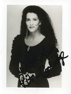RITA COOLIDGE - AUTOGRAPHED SIGNED PHOTOGRAPH