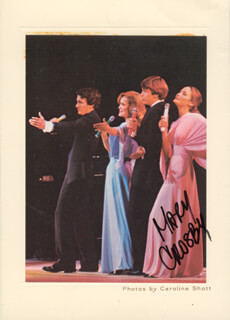 MARY CROSBY - AUTOGRAPHED SIGNED PHOTOGRAPH