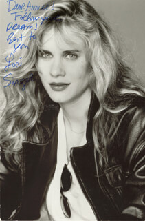 LORI SINGER - AUTOGRAPHED INSCRIBED PHOTOGRAPH